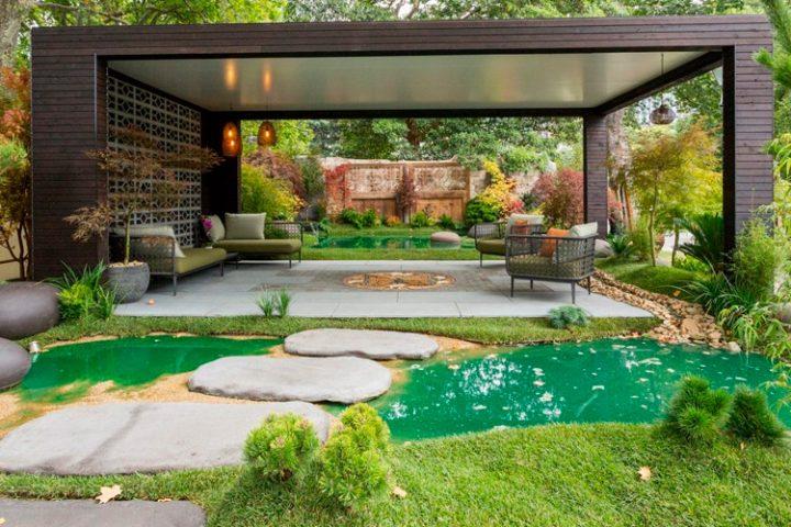 Стильный и современный ландшафтный дизайн станет лучшим решением по безупречному оформлению приусадебного участка