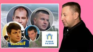 Віктор Шахирзян пов'язаний з корумпованими правоохоронцями та бурштиновою мафією